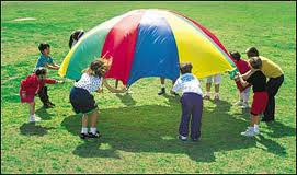 rainydayprek parachute play